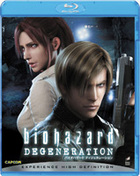 Biohazard Degeneration (AKA: Resident Evil: Degeneration) (Blu-ray) (English Subtitled) (Japan Version)