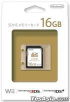 Wii SDHC Memory Card 16GB (Japan Version)