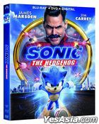 Sonic the Hedgehog (2020) (Blu-ray + DVD + Digital) (US Version)