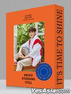 Kang Daniel 1st Art Book - NEVER STANDING STILL (Vibrant Version)