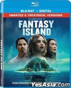 Fantasy Island (2020) (Blu-ray + Digital) (Unrated & Theatrical Versions) (US Version)