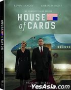 House Of Cards (2013) (DVD) (The Complete Third Season) (US Version)