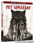 Pet Sematary (2019) (Blu-ray + DVD + Digital) (US Version)