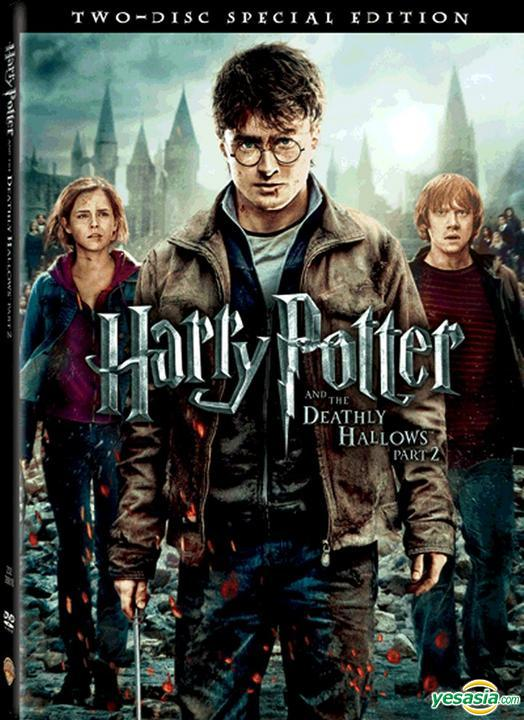 Yesasia Harry Potter And The Deathly Hallows Part 2 2011 Dvd 2 Discs Hong Kong Version Dvd Daniel Radcliffe Rupert Grint Warner Hk Western World Movies Videos Free Shipping North America Site