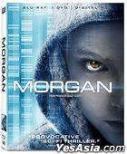 Morgan (2016) (Blu-ray + DVD + Digital HD) (US Version)