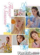 DIA Mini Album Vol. 6 - Flower 4 Seasons (Flower Version) + Poster in Tube (Flower Version)