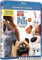 The Secret Life of Pets (2016) (Blu-ray) (3D + 2D) (Hong Kong Version)