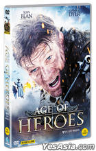 Age of Heroes (DVD) (Korea Version)
