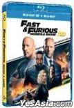 Fast & Furious: Hobbs & Shaw (2019) (Blu-ray) (2D + 3D) (Hong Kong Version)