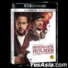 Sherlock Holmes: A Game of Shadows (4K Ultra HD + Blu-ray) (Korea Version)