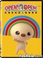 OPEN! OPEN! (2015) (DVD) (English Subtitled) (Taiwan Version)