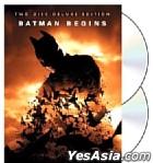 Batman Begins (2005) (Two Disc Deluxe Edition) (Free Comic) (Hong Kong Version)