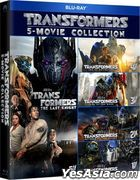 Transformers 5-Movie Collection (Blu-ray) (Hong Kong Version)