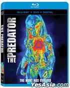 The Predator (2018) (Blu-ray + DVD + Digital) (US Version)
