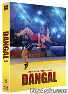 Dangal (Blu-ray) (Amaray Case + Lenticular Full Slip + Booklet + Postcard + Character Card Numbering Limited Edition) (Korea Version)