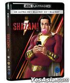 Shazam! (4K Ultra HD + 3D + 2D Blu-ray) (3-Disc) (Limited Edition) (Korea Version)