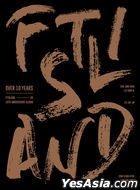 FTISLAND 10th Anniversary Album - Over 10 Years (CD + DVD) (Taiwan Version)