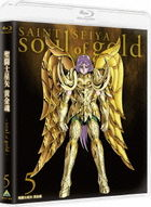 Saint Seiya - Soul of Gold - 5 (Blu-ray) (First Press Limited Edition)(Japan Version)