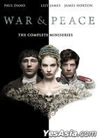 War & Peace (2016) (DVD) (Ep. 1-6) (The Complete Miniseries) (BBC TV Drama) (US Version)