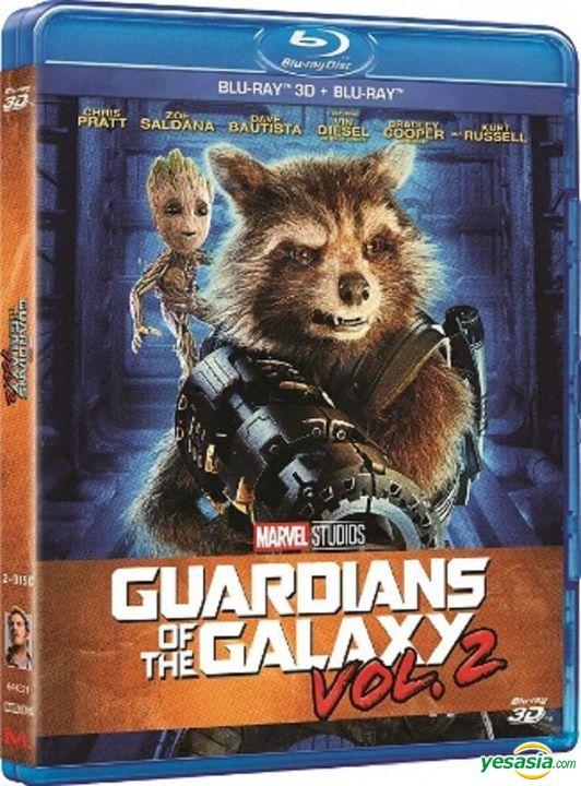 Yesasia Guardians Of The Galaxy Vol 2 2017 Blu Ray 2d 3d Hong Kong Version Blu Ray Chris Pratt Bradley Cooper Intercontinental Video Hk Western World Movies Videos