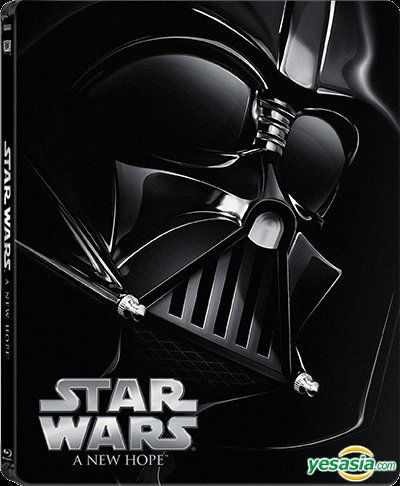 Yesasia Star Wars Episode Iv A New Hope 1977 Blu Ray Limited Edition Steelbook Hong Kong Version Blu Ray Carrie Fisher Mark Hamill Deltamac Hk Western World Movies Videos Free Shipping