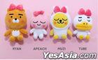 Kakao Friends Character Doll Key Ring (Ryan)