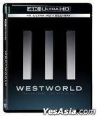 Westworld (4K Ultra HD + Blu-ray) (Ep. 1-8) (Season Three) (Hong Kong Version)