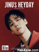 Jinu Single Album Vol. 1 - JINU's HEYDAY (BOLD Version) + Double-sided Poster in Tube