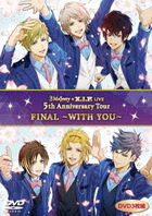 3 Majesty x X.I.P. LIVE -5th Anniversary Tour FINAL- WITH YOU  (Normal Edition) (Japan Version)
