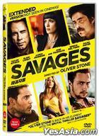 Savages (DVD) (Korea Version)