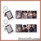 Stray Kids 1ST #LoveSTAY [SKZ-X] OFFICIAL GOODS - Tape Frame Keyring (Unit A - Bang Chan, Hyun Jin, HAN, Seung Min)