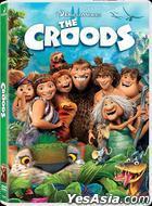 The Croods (2013) (DVD) (Hong Kong Version)