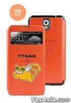 Samsung Galaxy Note 3 TTOMA View Flip Case (Angel Orange)