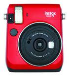 Fujifilm Instax Mini 70 Selfie Mode Instant Camera (Red)