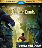 The Jungle Book (2016) (Blu-ray + DVD + Digital HD) (US Version)