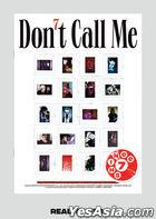 SHINee Vol. 7 - Don't Call Me (PhotoBook Version) (REALITY Version) + Poster in Tube (REALITY Version)