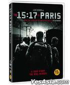The 15:17 to Paris (DVD) (Korea Version)