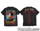 G-DRAGON MOTTE Official Goods - T-Shirt (Type 1) (Black) (XLarge)