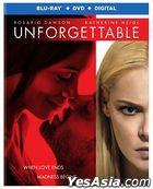 Unforgettable (2017) (Blu-ray + DVD + Digital) (US Version)