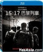 The 15:17 to Paris (2018) (Blu-ray) (Taiwan Version)
