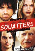 Squatters (2014) (DVD) (Hong Kong Version)