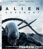 Alien: Covenant (2017) (Blu-ray + DVD + Digital HD) (US Version)