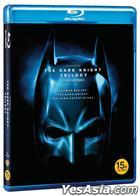 The Dark Knight Trilogy (Blu-ray) (3-Disc) (Normal Edition) (Korea Version)