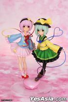 Touhou Project : Komeiji Satori & Koishi Love Heart Ver. Pre-painted PVC Figure