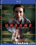 Unsane (2018) (Blu-ray) (Hong Kong Version)
