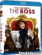 The Boss (2016) (Blu-ray) (Hong Kong Version)