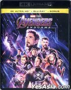 Avengers: Endgame (2019) (4K Ultra HD + Blu-ray + Bonus Blu-ray) (Hong Kong Version)