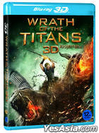 Wrath of the Titans (Blu-ray) (2D + 3D) (Korea Version)