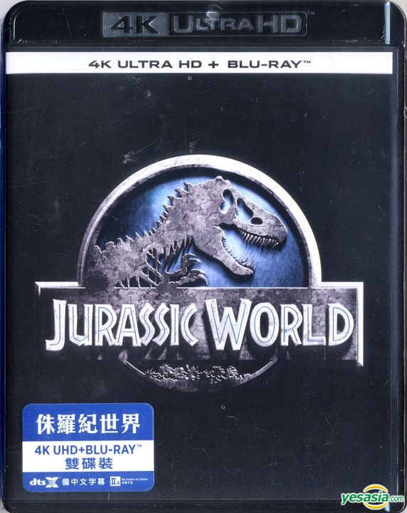 Yesasia Jurassic World 2015 4k Ultra Hd Blu Ray Hong Kong Version Blu Ray Bryce Dallas Howard Chris Pratt Intercontinental Video Hk Western World Movies Videos Free Shipping