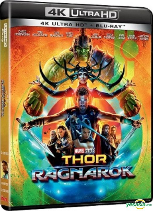 Yesasia Thor Ragnarok 2017 4k Ultra Hd Blu Ray Hong Kong Version Blu Ray Chris Hemsworth Tom Hiddleston Intercontinental Video Hk Western World Movies Videos Free Shipping